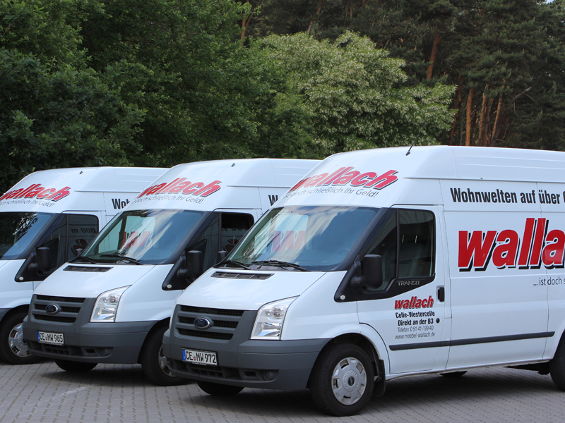Miet Transporter Möbel Wallach