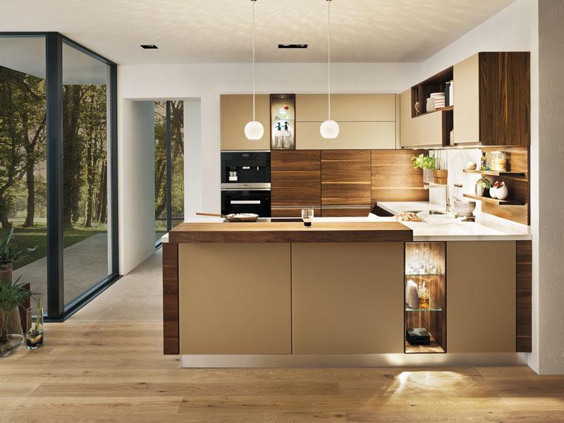 Küche in U-Form - Möbel Wallach