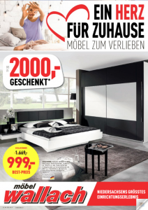 aktuelle werbung m bel wallach. Black Bedroom Furniture Sets. Home Design Ideas