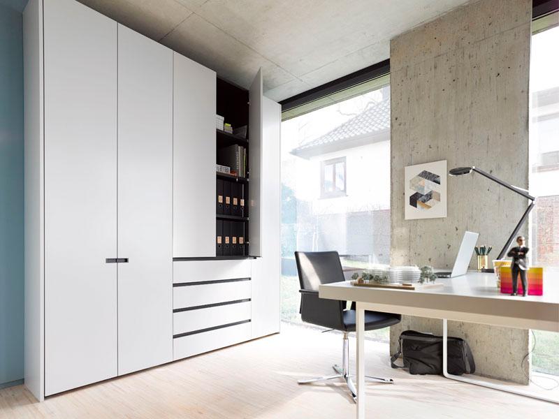home office einrichten m bel wallach. Black Bedroom Furniture Sets. Home Design Ideas